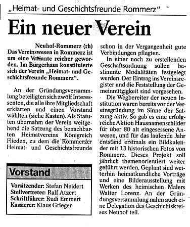 Fuldaer Zeitung vom 10. April 2002